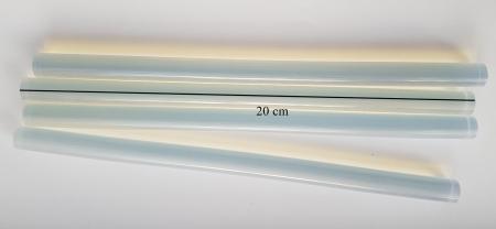 Rezerve silicon cristal transparente  - 20 cm2