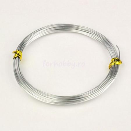 Sârmă de modelaj aluminiu 1.5 mm / 5 m1