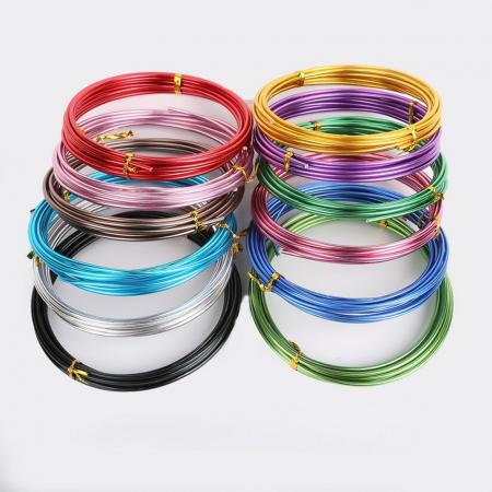 Sârmă de modelaj aluminiu 1.5 mm / 5 m0