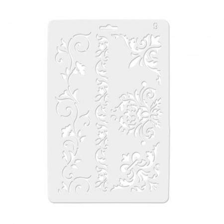 Sablon plastic flexibil - Colturi si borduri1