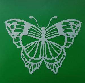 Sablon plastic flexibil - Model fluture 10 x 10 cm1