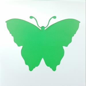 Sablon plastic flexibil - Model fluture 10 x 10 cm3
