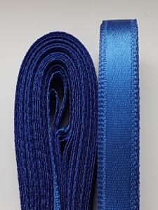Saten albastru inchis 20 mm/10 m0