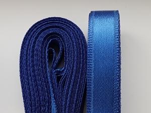 Saten albastru inchis 20 mm/10 m1