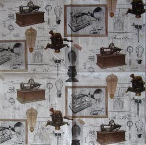 Servetel decor - Thomas A. Edison1