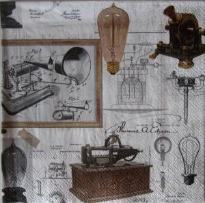 Servetel decor - Thomas A. Edison0