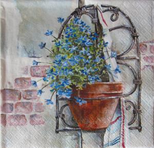 Servetel floral - Lucia0