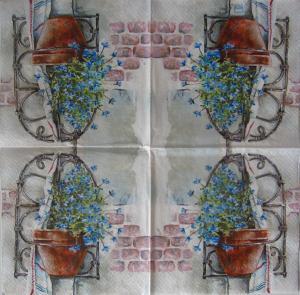 Servetel floral1