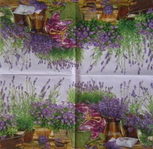 Servetel decorativ Maki - Lavanda1