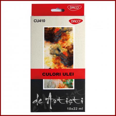 Culori ulei 10 culori 22 ml Artisti0