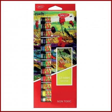 Set 12 culori ulei Daco0
