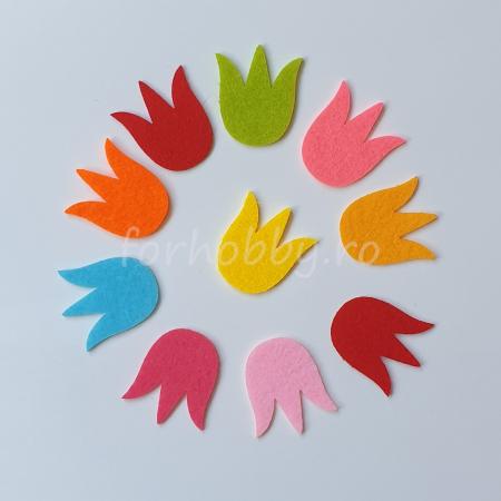 Set figurine din fetru - Lalele1