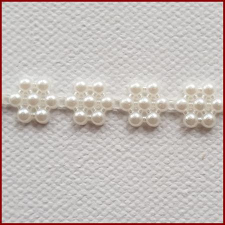 Sirag din margele plastic 1cm / 50 cm - Floare1