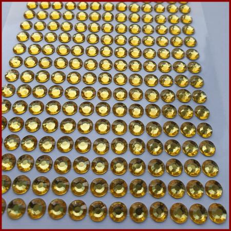 Strasuri acrilice autoadezive 5 mm1