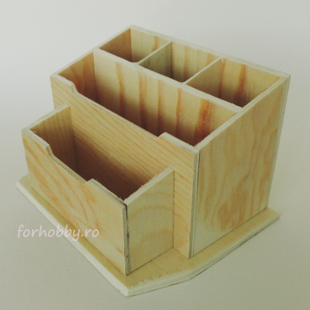 Suport birou din lemn 16 x 11.5 x 9.5 cm3