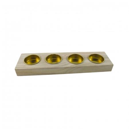 Suport lumânări pastile 25 x 6.8 x 2.5 cm0