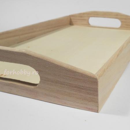 Tavă dreptunghiulară din lemn - Diverse mărimi2