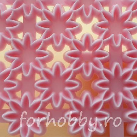 Textura Emboss - Flori1