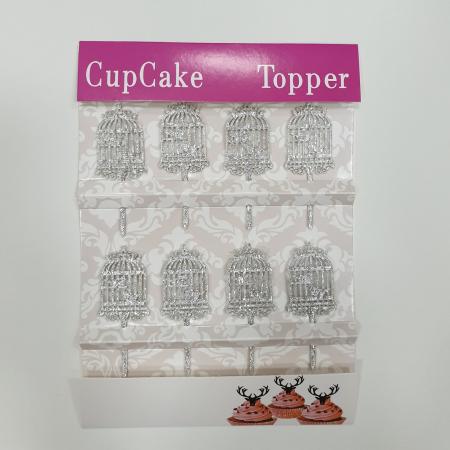Cupcake Topper - Colivie de păsări1