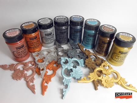 Vopsea decor metal mat 100 ml3