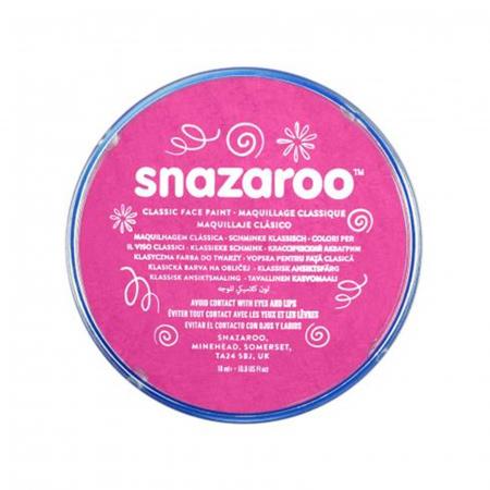 Vopsea pentru fata si corp Snazaroo Classic - Roz (Bright Pink)0