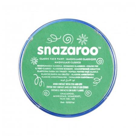 Vopsea pentru fata si corp Snazaroo Classic - Verde (Bright Green)0