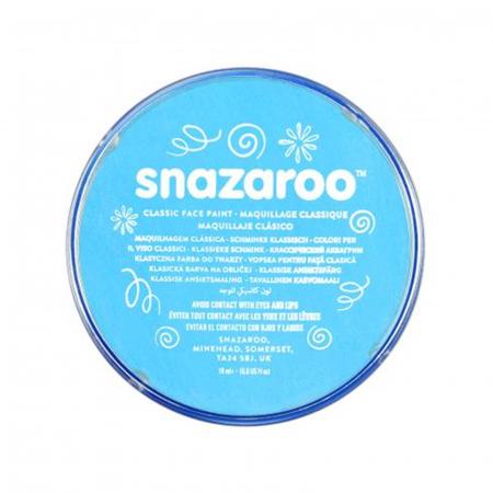 Vopsea pentru fata si corp Snazaroo Classic - Turcoaz (Turquoise)0