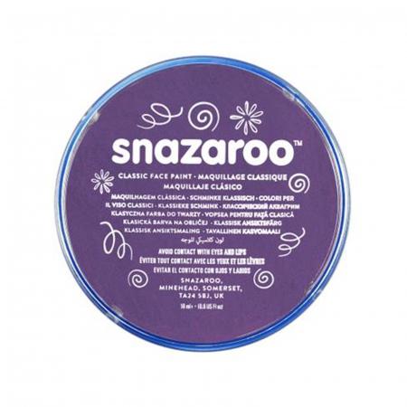 Vopsea pentru fata si corp Snazaroo Classic - Violet (Purple)0
