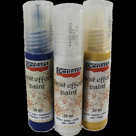 Vopsea satinare 20 ml - Culori de bază și metalizate1