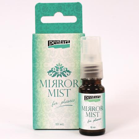 Vopsea spray efect oglindă pentru plastic 10 ml0