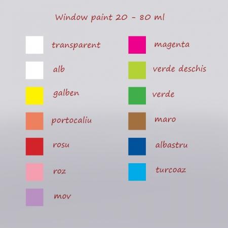 Window paint 20 ml - Culori1