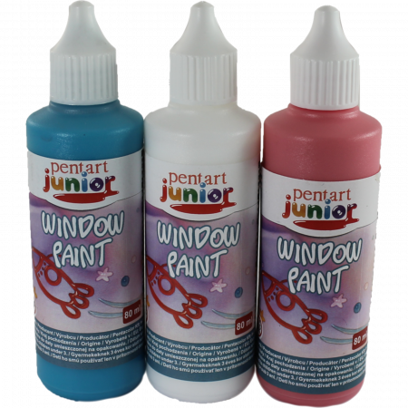 Window paint 80 ml - Culori0
