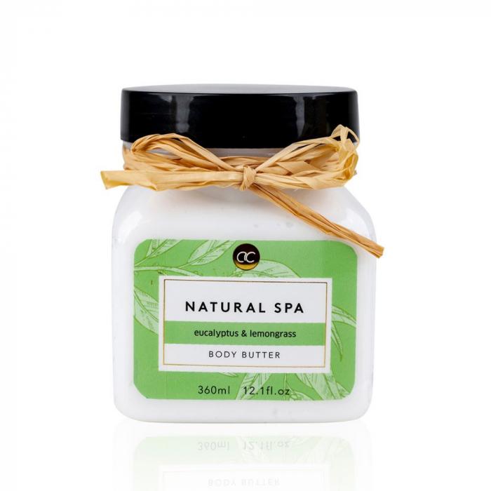 Crema de corp Accentra Body cream Natural Spa in a can, 360 ml [0]