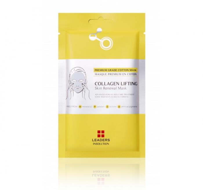 Masca pentru ten Leaders Collagen Lifting Skin Renewal Mask, 25ml [0]