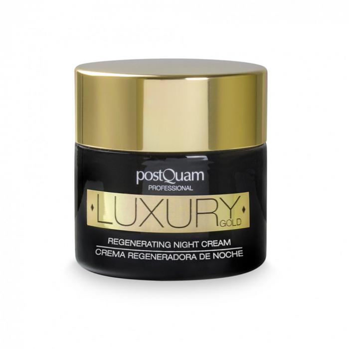 Crema de noapte postQuam Regenerating night cream - Luxury Gold, 50ml [0]