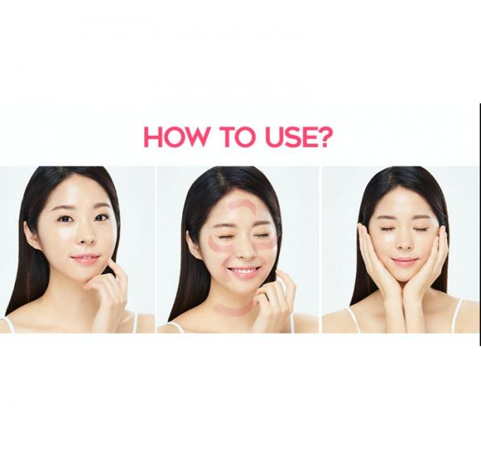 Patch-uri cu hidrogel G9 Skin Pink Blur Hydrogel Eye Patch, 100 g [2]