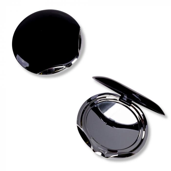 Oglinda de buzunar Accentra Pocket mirror oval, 8.1 x 7.2 x 1.6cm [0]