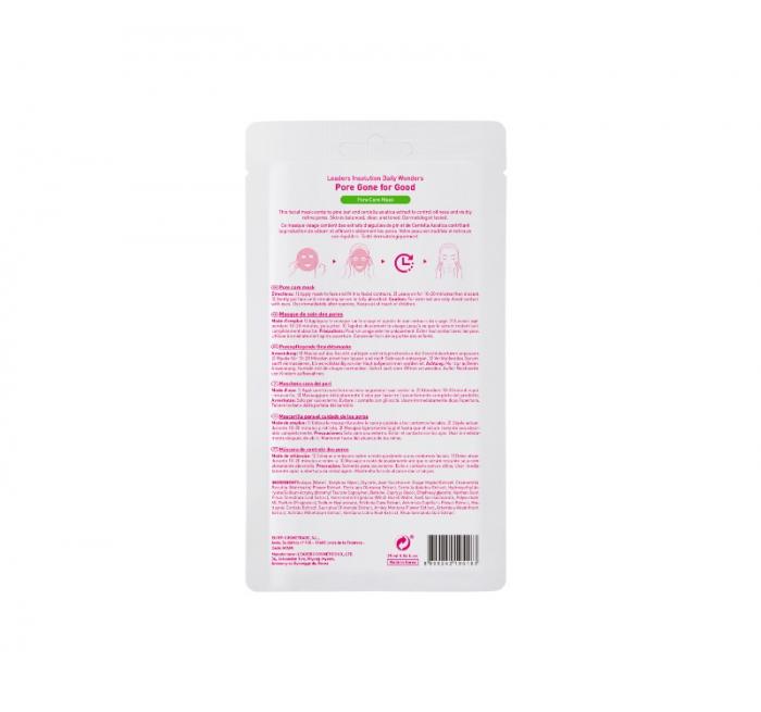 Masca pentru ingrijirea porilor Leaders Pore Gone for Good Pore Care Mask, 25 ml [1]