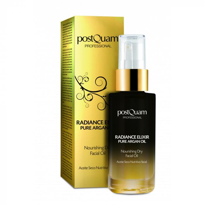 Ulei de faţă postQuam Pure Argan Oil Radiance Elixir, 30 ml [0]