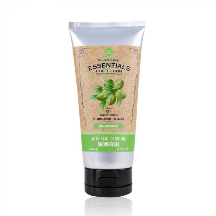 Gel de dus Accentra Shower gel OLIVE enriched with olive oil, 200 ml [0]