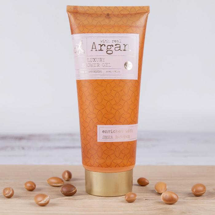 Gel de dus Accentra Shower Gel Premium Collection – Argan, 200 ml [1]