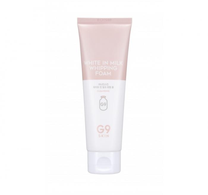 Spuma de curatare G9 Skin White In Milk Whipping Foam, 120 ml [0]