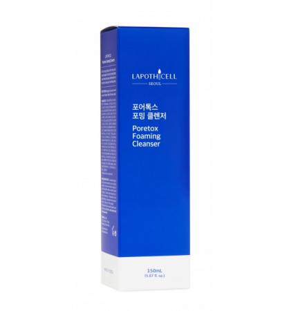 Gel de curatare Lapothicell Poretox Foaming Cleanser, 150 ml [2]