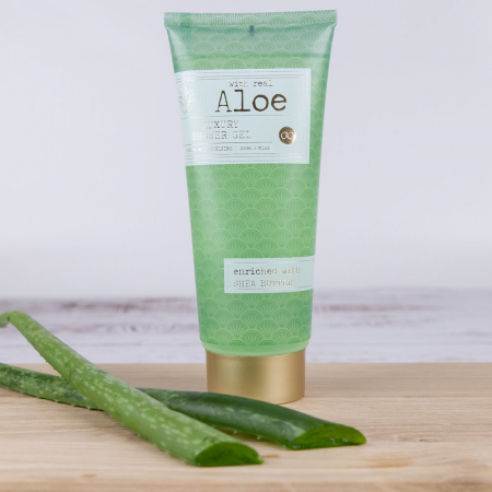 Gel de dus Accentra Shower Gel Premium Collection - Aloe Vera, 200 ml [1]
