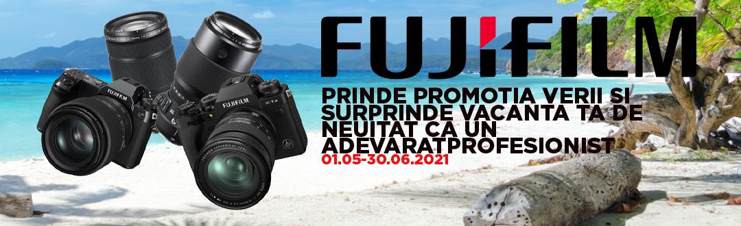 Promotie Fujifilm in perioada 07.05 - 30.06.2021!