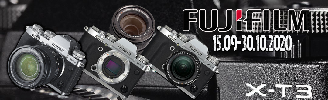 Promotie FUJIFILM, reducere la aparatele si kiturile de X-T3