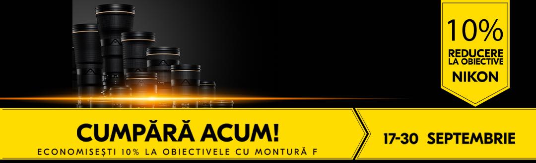 Promotie Obiective Nikon 17-30 septembrie