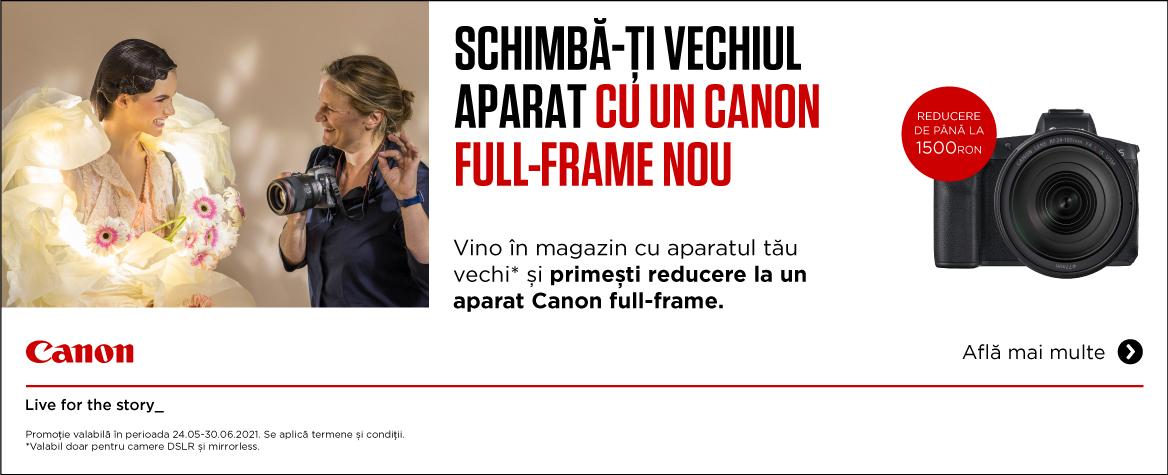 Promotie Summer Canon TRADE IN Q2 2021