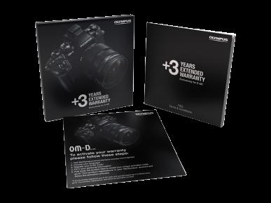 3 ani garanție extinsă pentru Olympus E-M10 Mark II, M5 Mark II 0