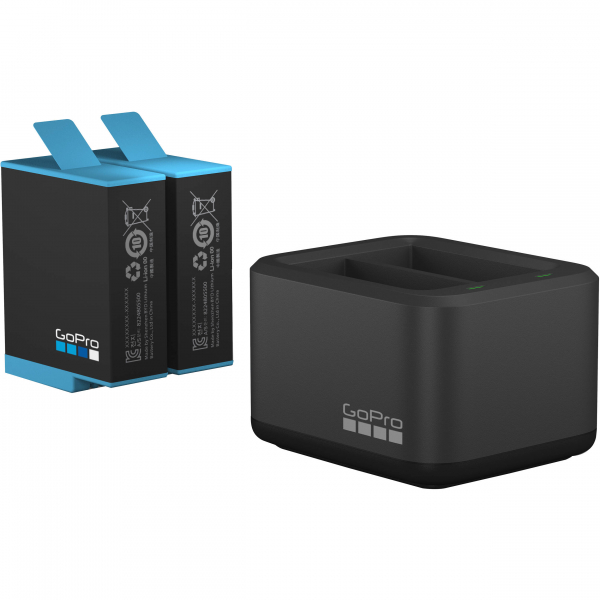 GoPro Incarcator Dual Battery Charger + Baterie extra pentru HERO9 Black [0]